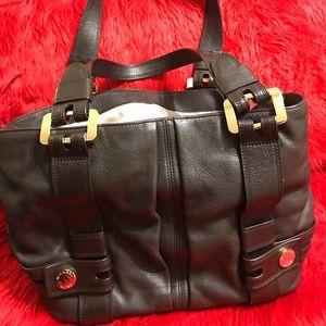 MK Brown Leather Purse